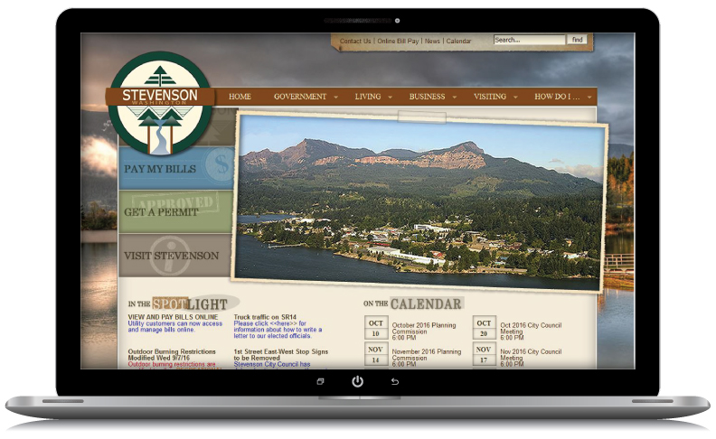 city-of-stevenson-hood-river-oregon-web-design-webrock-design